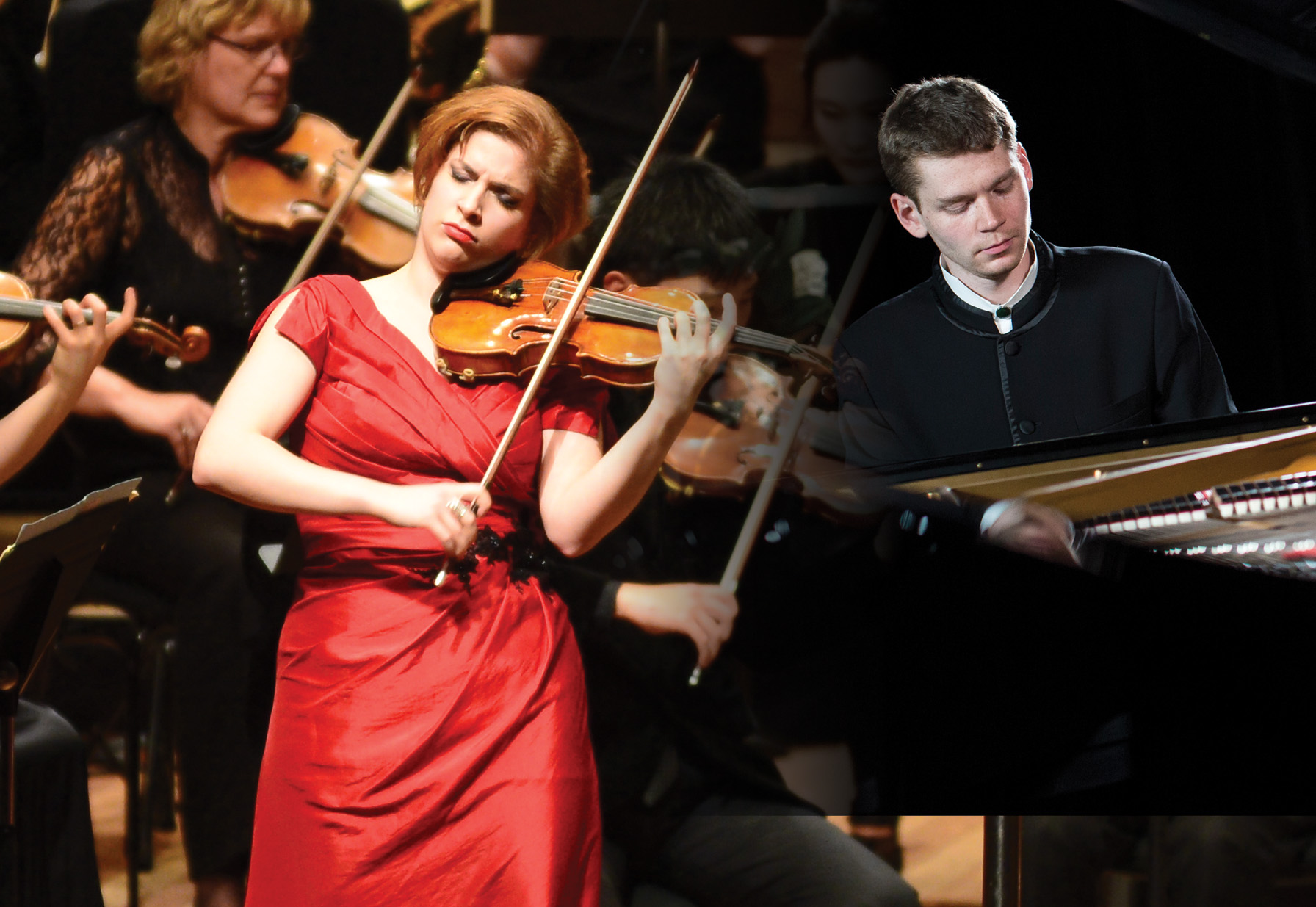 Michael Hill winner Ioana Cristina Goicea (violin) with Andrey Gugnin (piano)